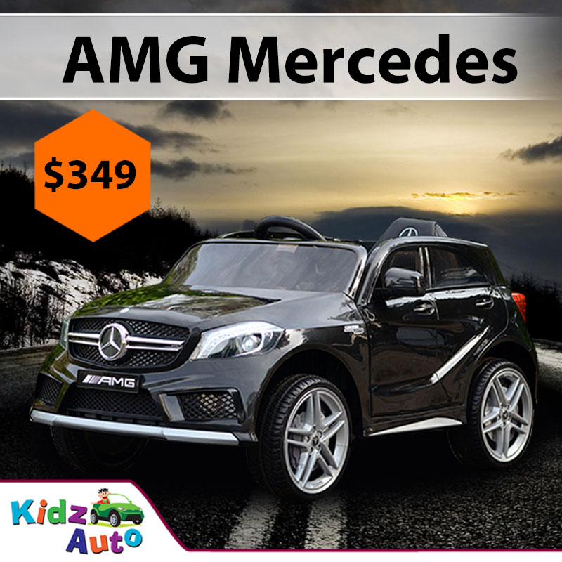 Mercedes AMG Black Ride On Car Featured Image