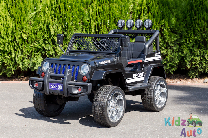 4 Off Roader Sport 24volt Black Profile Pic