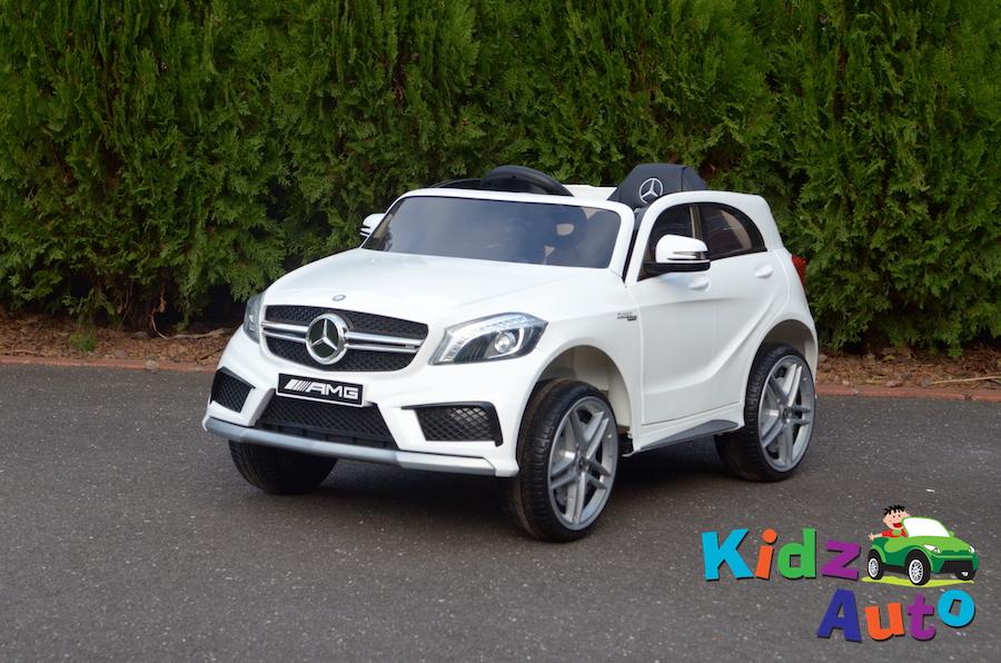 KA440 – Licesense Mercedes AMG A45 SUV – White – Profile